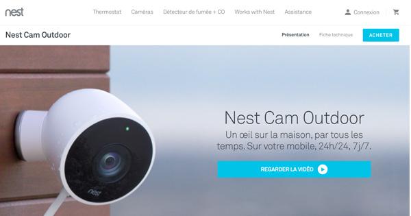 Installation caméra surveillance