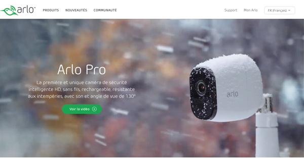 Camera Arlo Pro